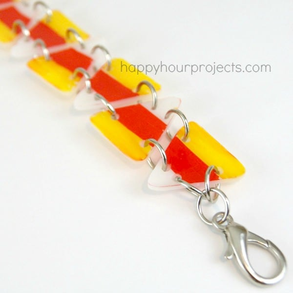candy corn braceletts
