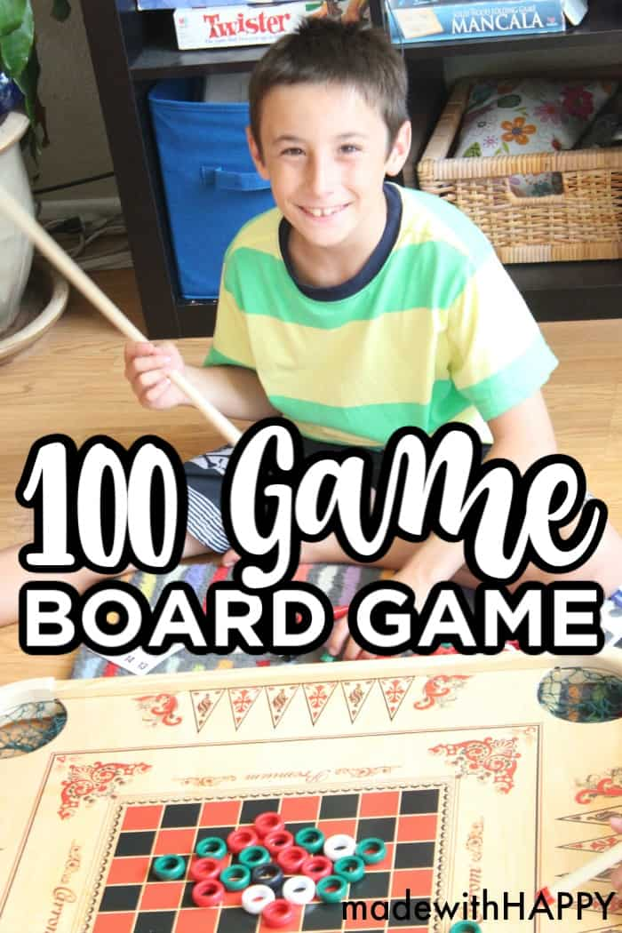 100 Game Board Game
