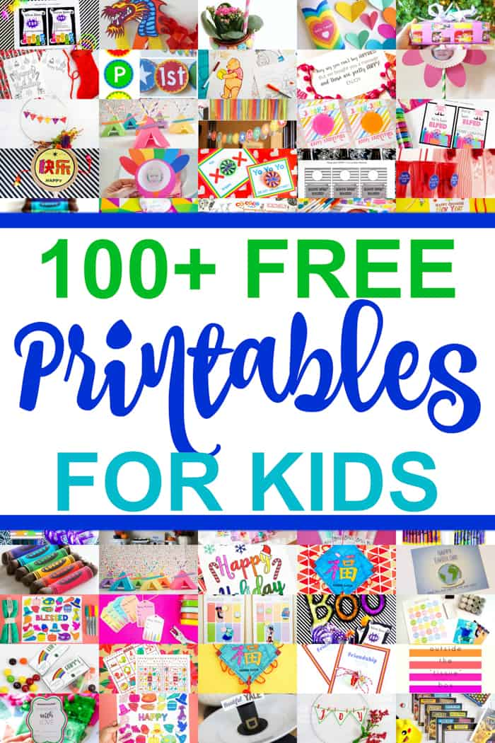 Tons of Free Printables for Kids