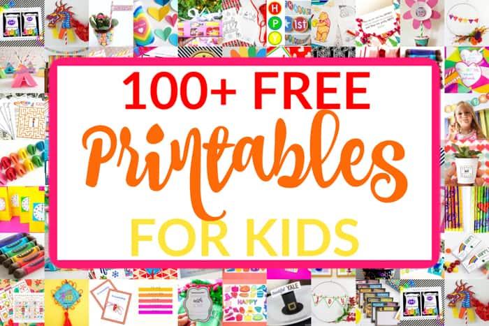 100+ Free Printables for Kids