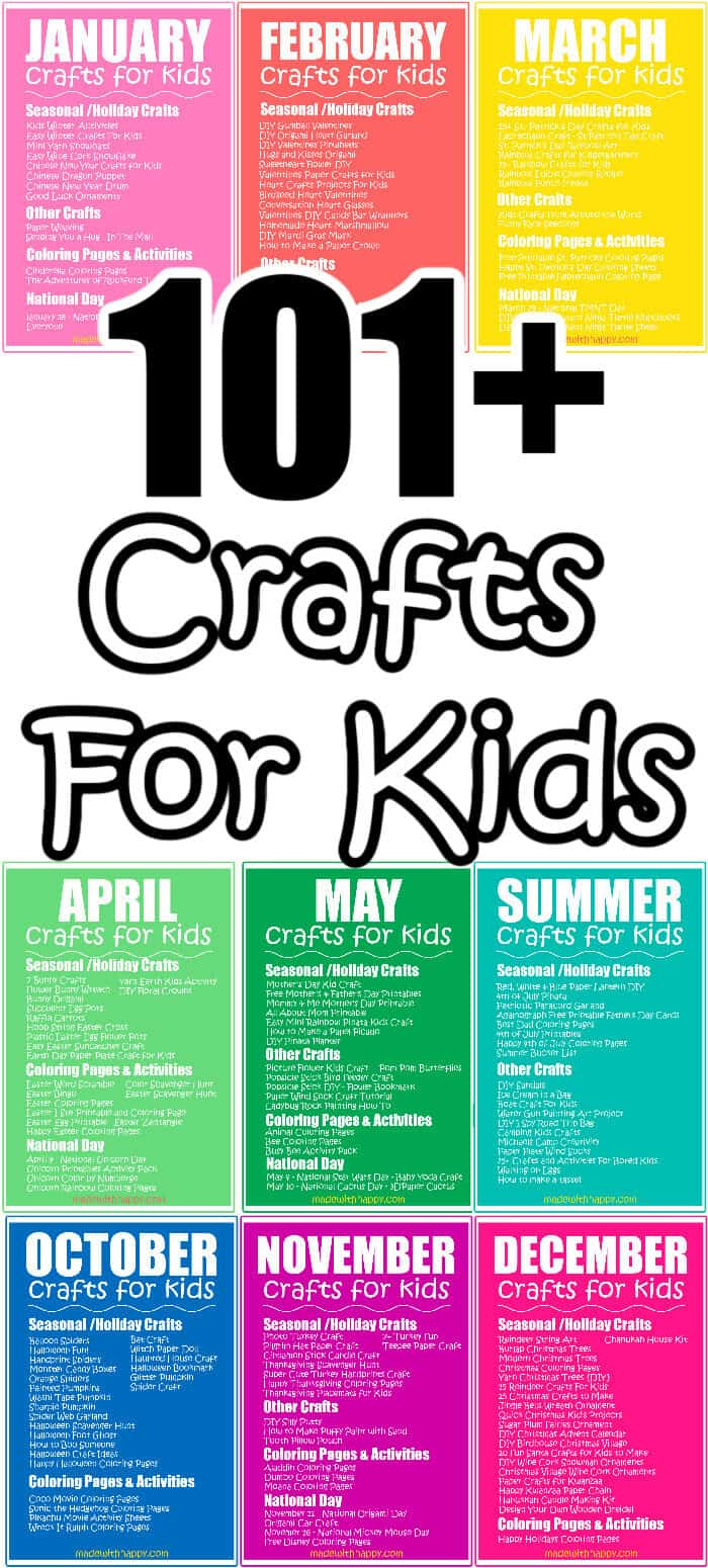 101 Crafts For Kids