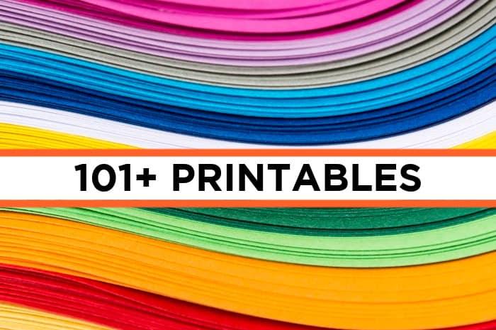 101 printables