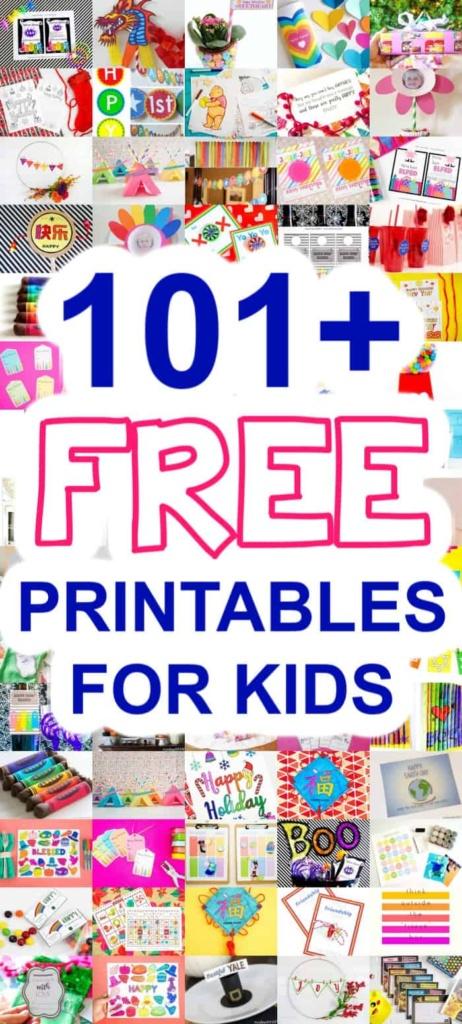 Kids Free Printables