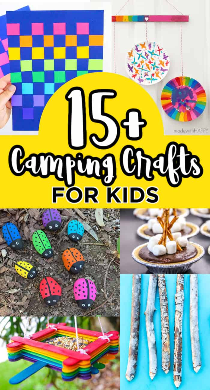 Kids Camping Crafts