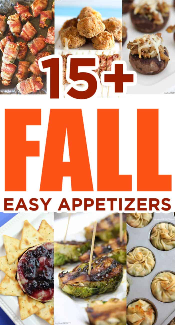 Fall Party Snacks