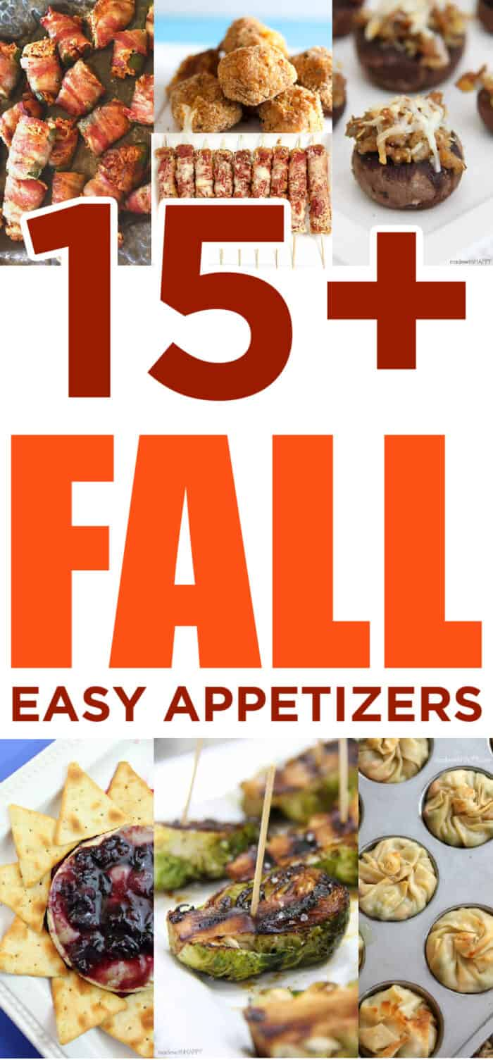 Easy Fall Finger Foods