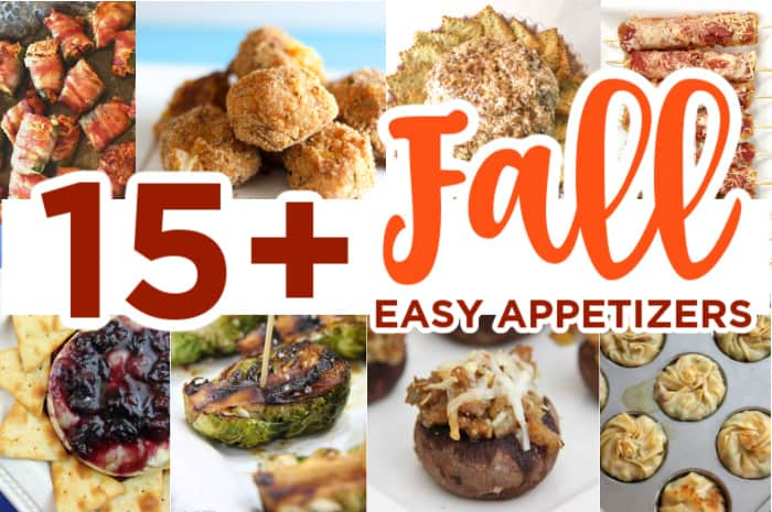 15+ Easy Fall Appetizers