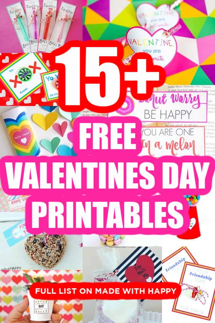 15+ Valentines Day Printables For Free