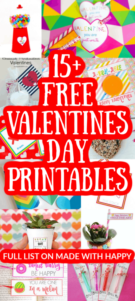 15+ Valentine's Day Printables