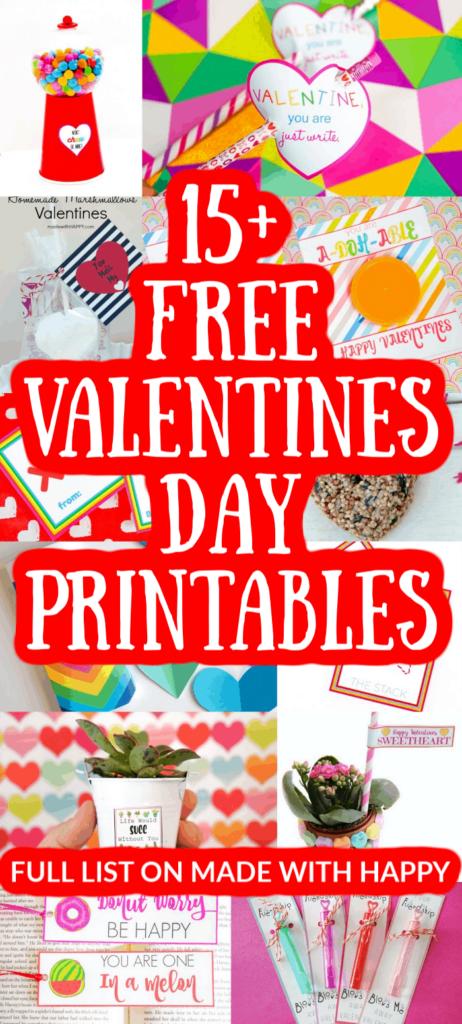 15+ Valentine's Day Printables