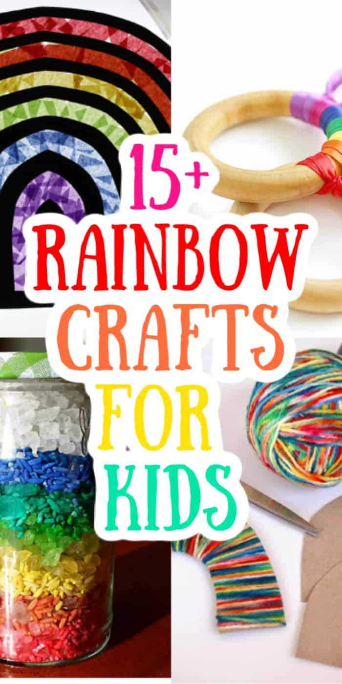 kids rainbow crafts