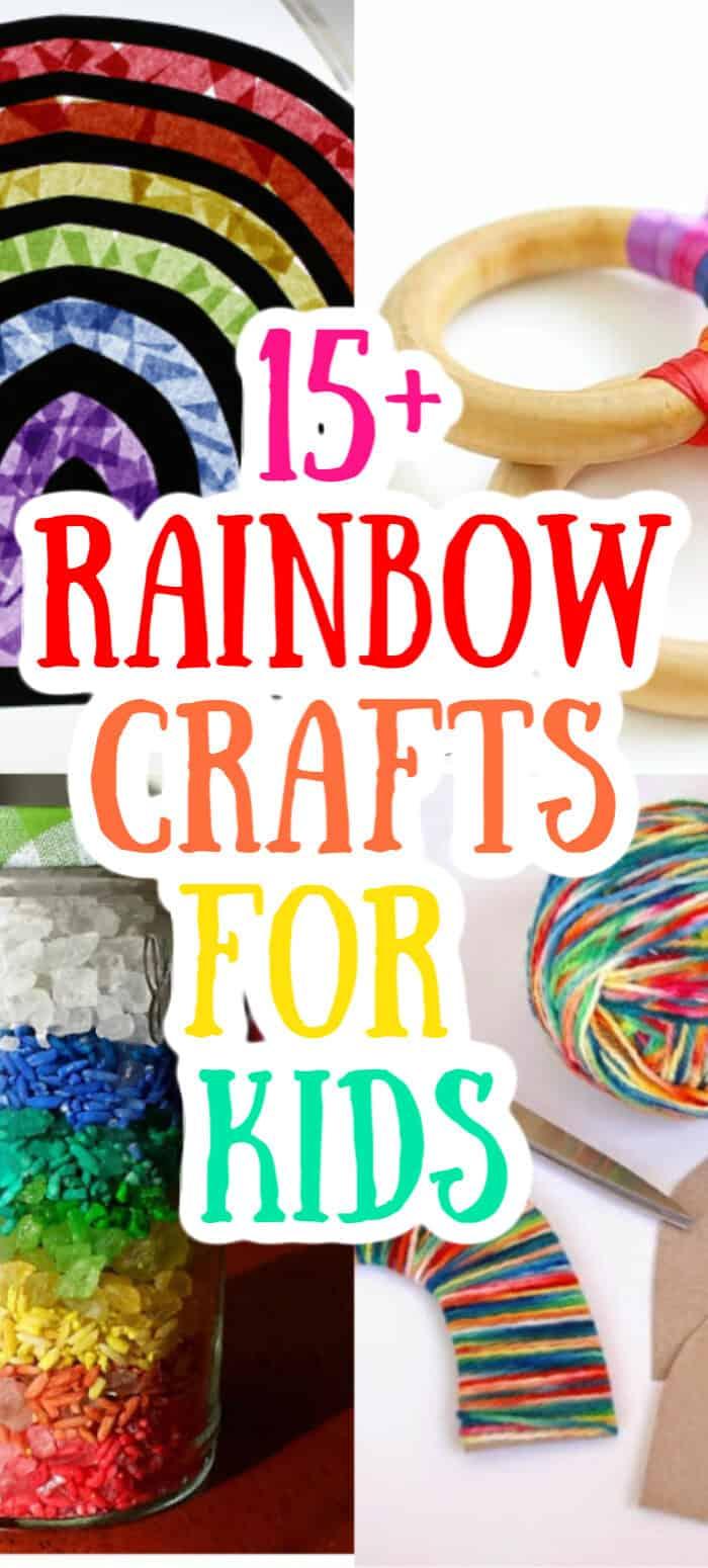 Rainbow Crafts for Children