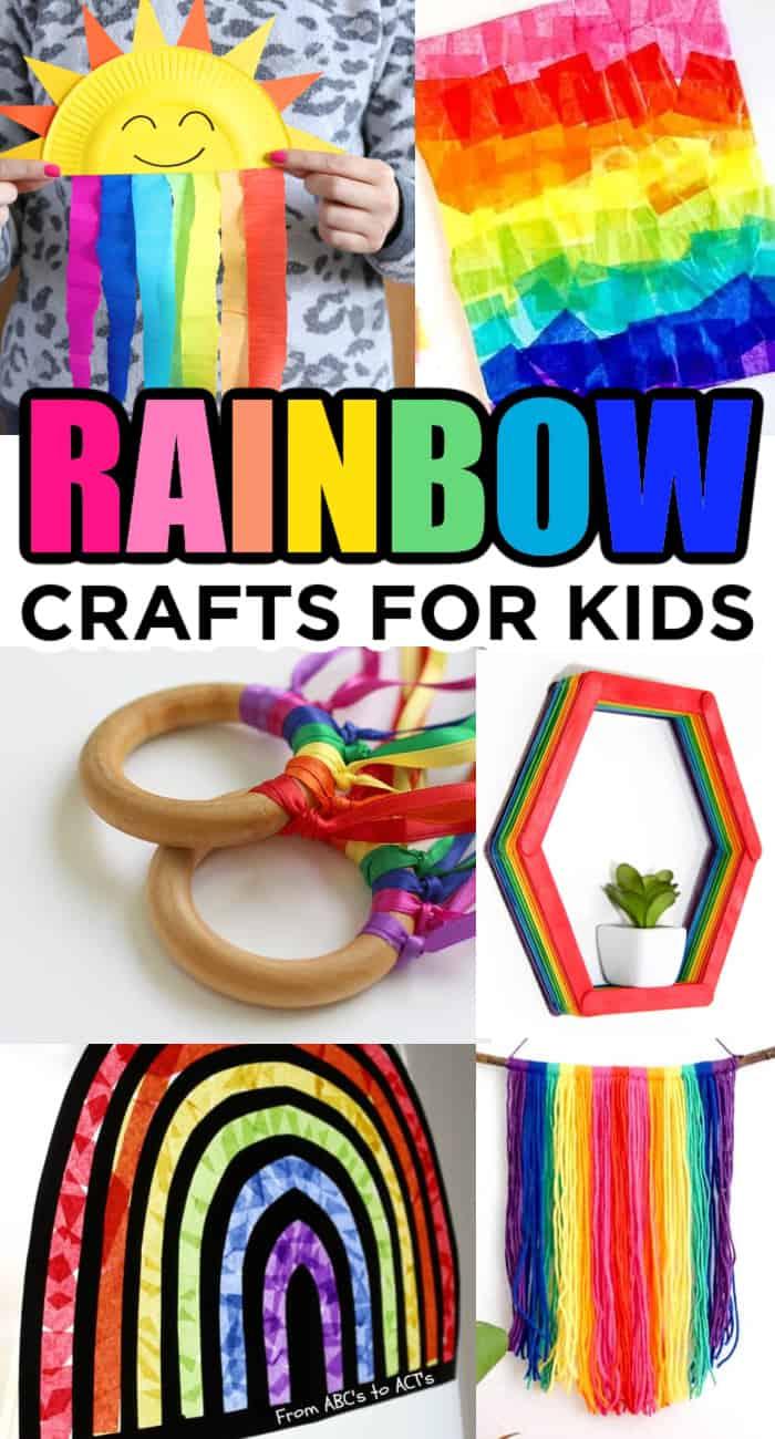 Kids Crafts with Rainbow