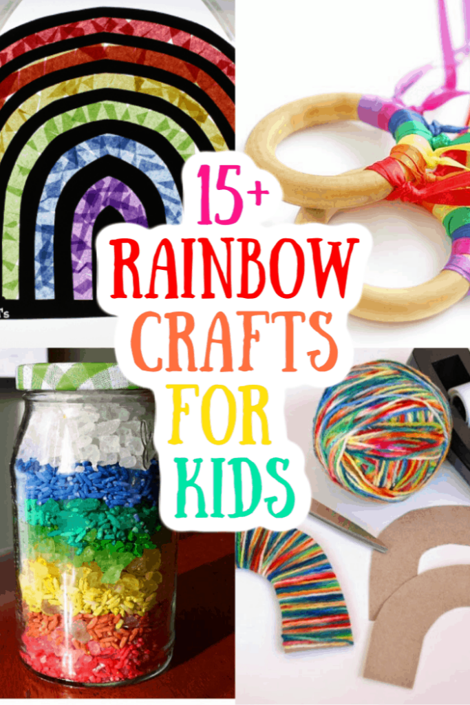 15+ Rainbow Crafts for Kids