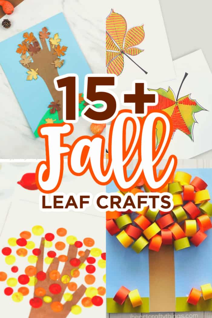 Kids Fall Leaf Crafts