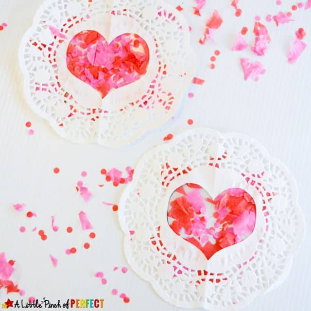 Heart Doilie Crafts