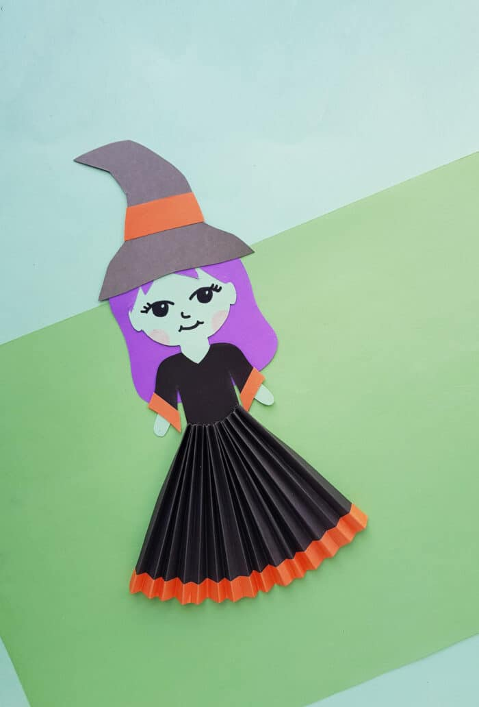 paper doll witch craft