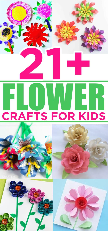 Flower Crafts For Preschools
