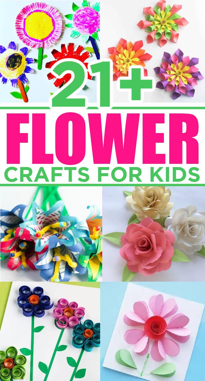 Easy Flower Crafts