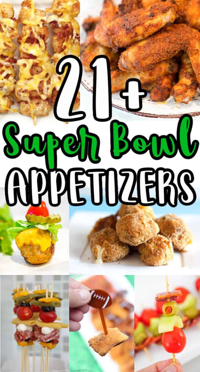 21+ Super Bowl Appetizers