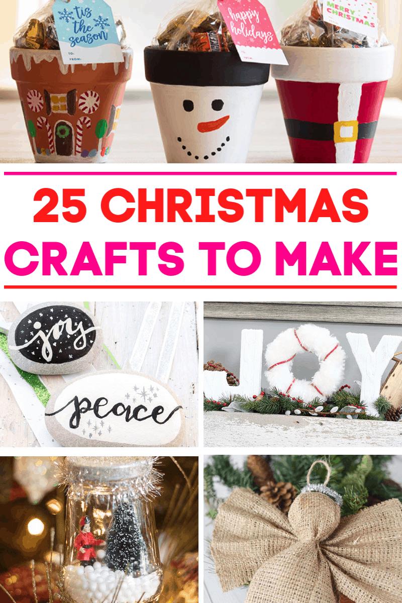 25 Christmas Crafts to Make