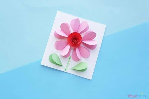 3D Heart Flower