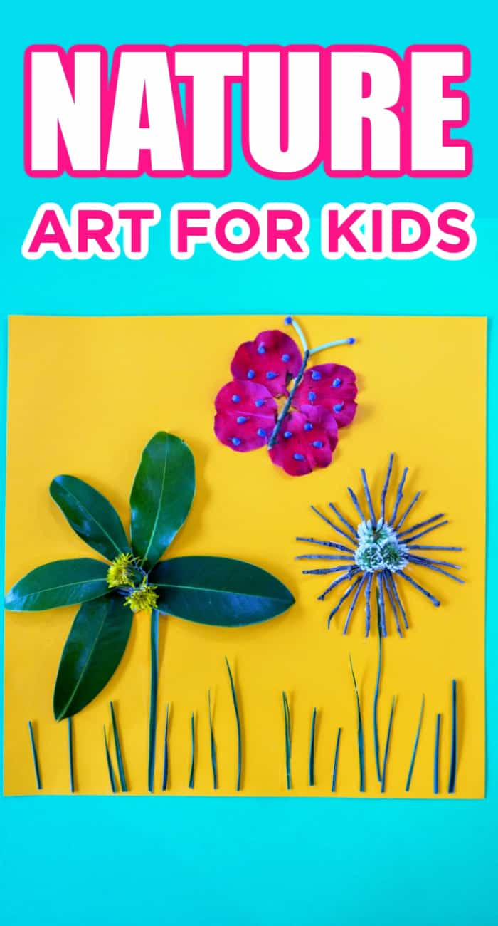 Nature Art For Kids