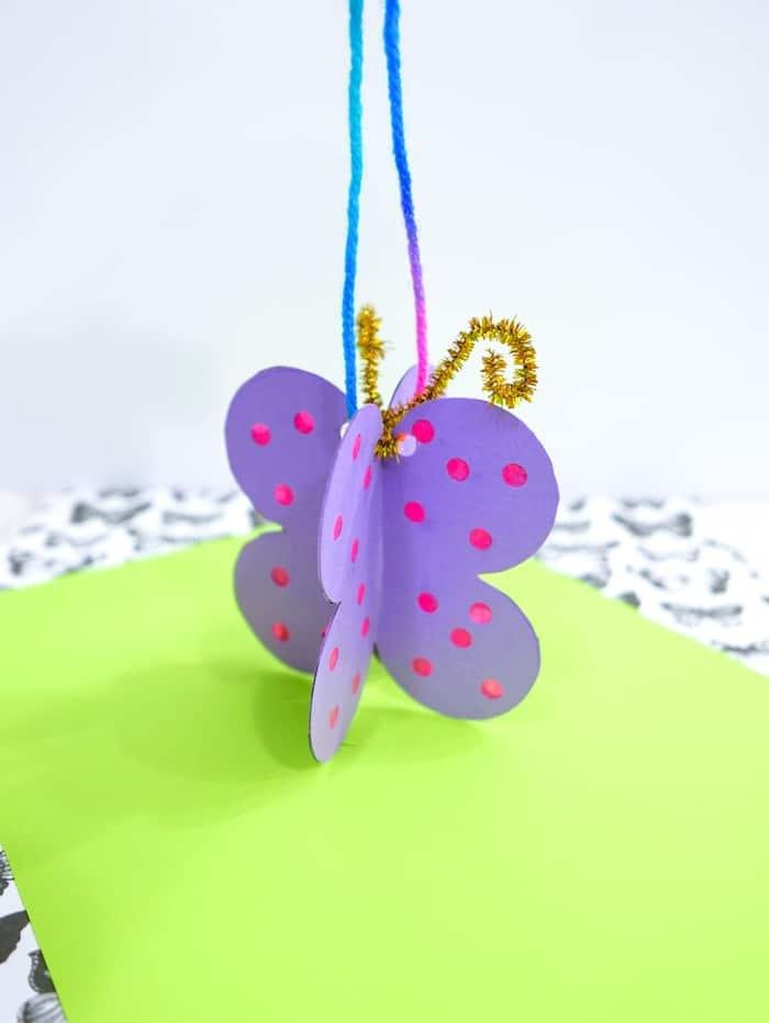 Turn Butterfly into suncatcher