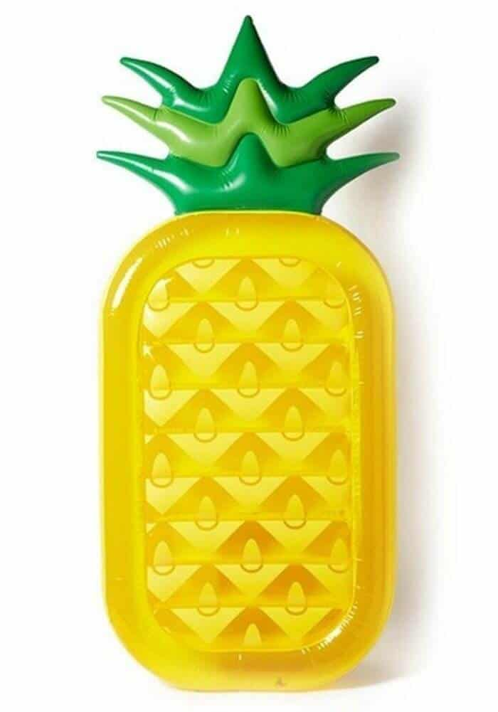 15+ Awesome Pool Floats for Home | Pool Floaties  for the home pool | Pineapple Pool Floats | www.madewithhappy.com