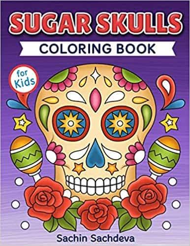 Sugar Skulls Coloring Books