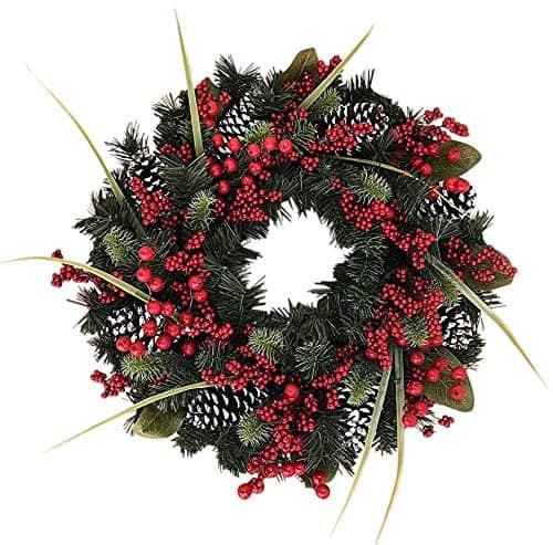 Tunbridge Winter Berry 22 Inch Wreath