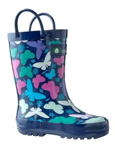 Butterfly Rain Boots For Kids. 15+ Rain Boots for Kids. Spring rain boots for kids. Bright colored rain boots for kids. www.madewithhappy.com