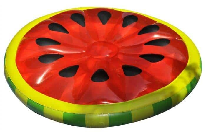 15+ Awesome Pool Floats for Home | Pool Floaties  for the home pool | Watermelon Pool Floats | www.madewithhappy.com
