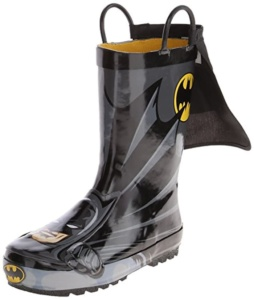 Batman Rain Boots For Kids. 15+ Rain Boots for Kids. Spring rain boots for kids. Bright colored rain boots for kids. www.madewithhappy.com