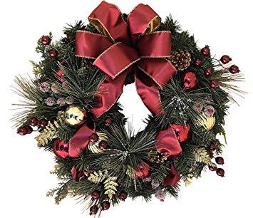 Easton 22 Inch Christmas Wreath
