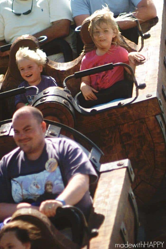 The 7 Dwarfs Ride   Made with HAPPY goes to the happiest place on earth!