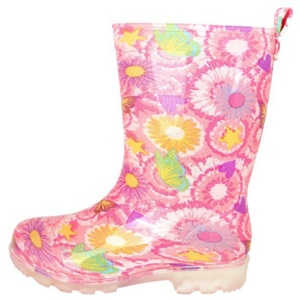 Floral Rain Boots For Kids. 15+ Rain Boots for Kids. Spring rain boots for kids. Bright colored rain boots for kids. www.madewithhappy.com