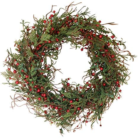 Marion Winter Berry 22 Inch Wreath