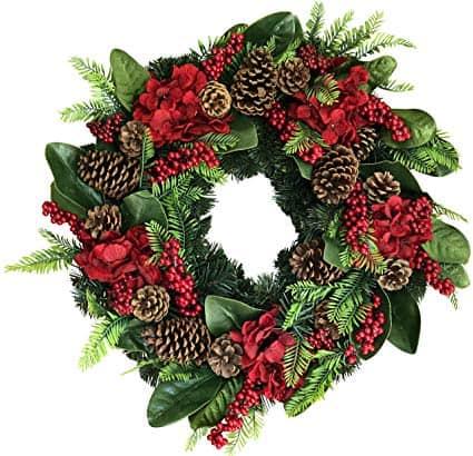 Arietta Winter Wreath