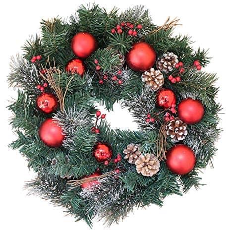 Whitehall Decorated Christmas Wreath