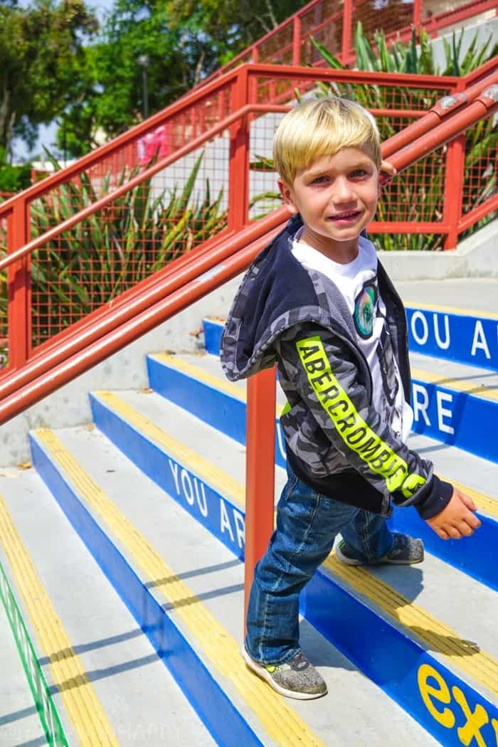 Boys jeans for back to school. Looking for affordable and trendy back to school fashion, then look no further. We're sharing our HAPPY new favorite back to school fashion brand Abercrombie Kids. Back to school clothes for kids.
