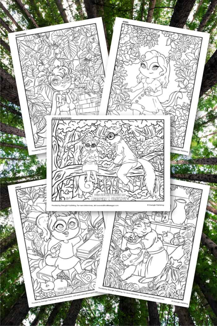 Coloring Pages for Kids Adventure Book