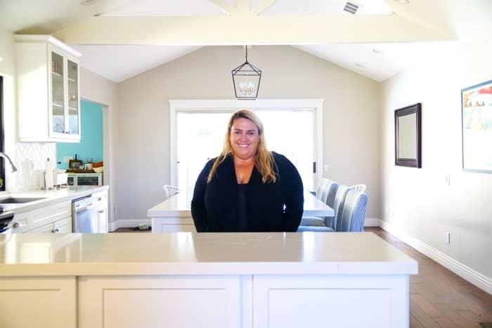 Kitchen renovation. Classic White Kitchen, Modern Farmhouse Style Kitchen. All White Kitchen.