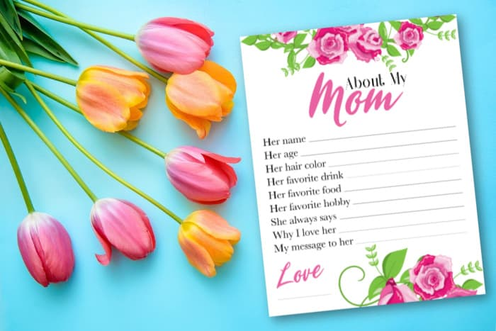 mom questionnaire