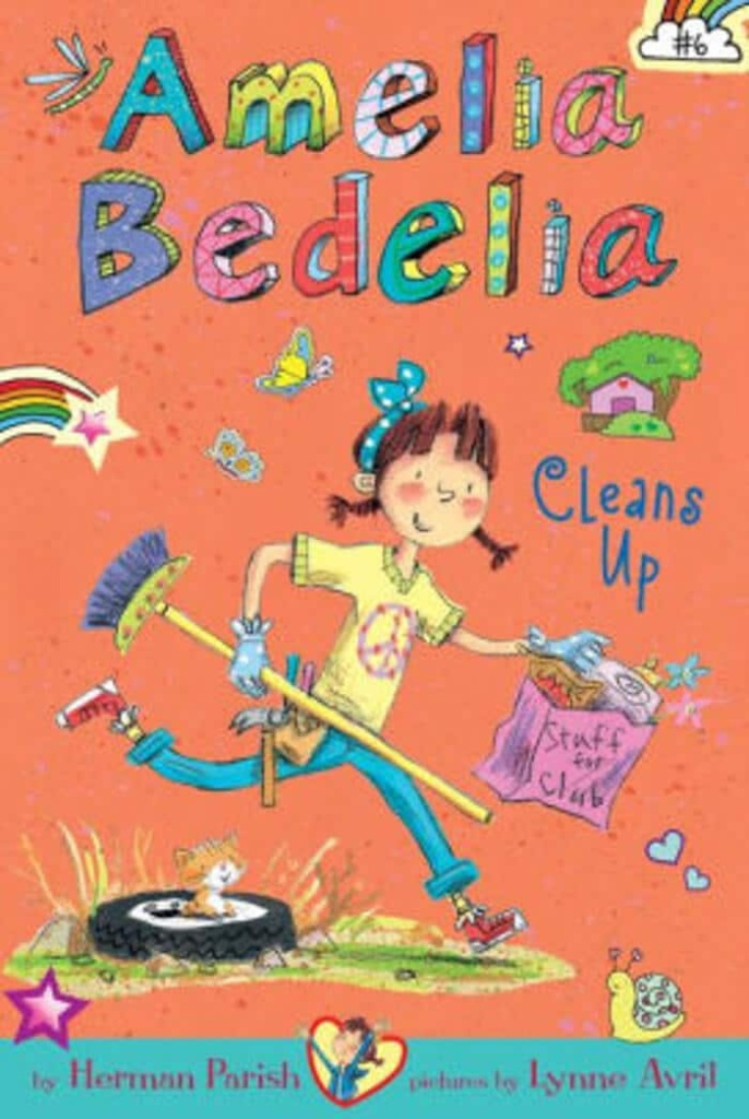 Amelia Bedelia. Top 10 Chapter Books for young readers. We're sharing our top picks for young readers that are looking for some great chapter books. www.madewithhappy.com