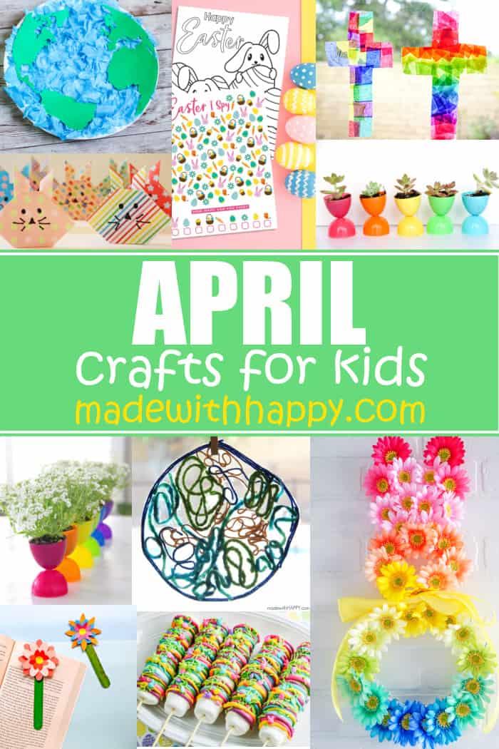 april arts and crafts for preschoolers