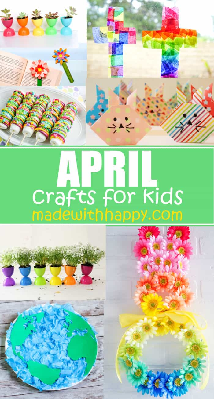 easy arts and crafts for april