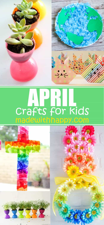 easy crafts for april