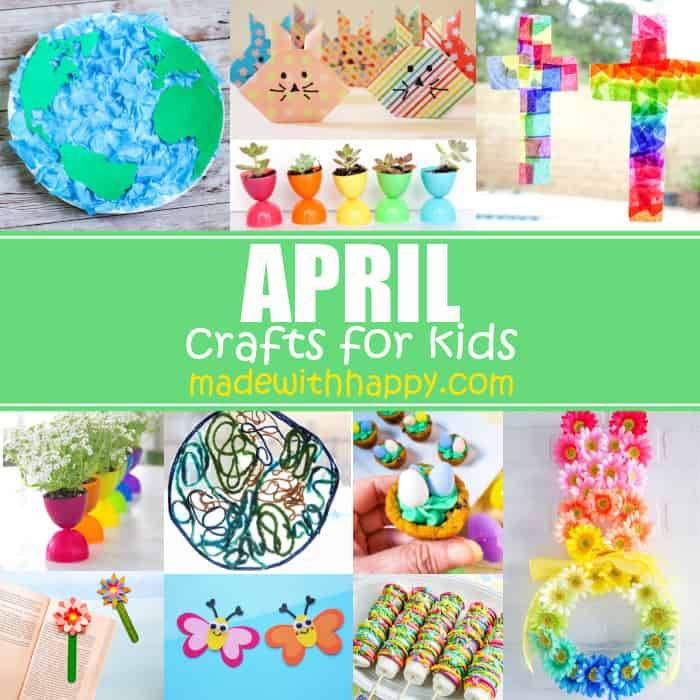 April Crafts For Kids Book