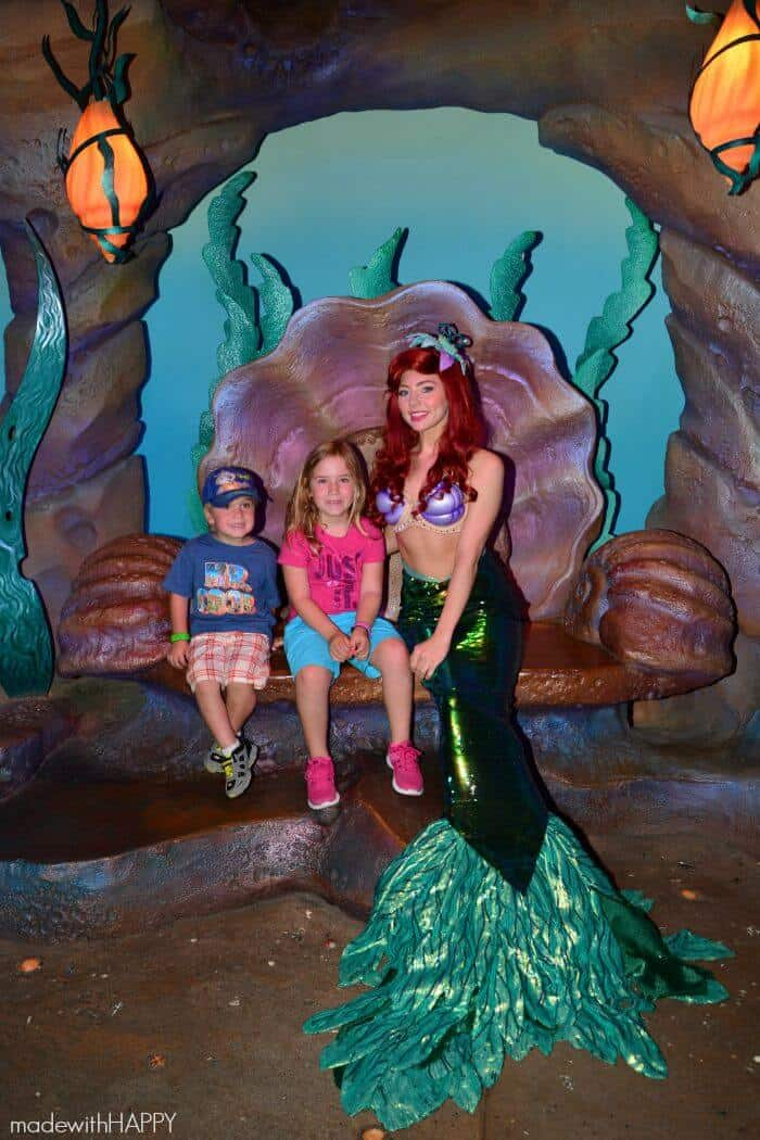 Meeting Arial   Made with HAPPY goes to the happiest place on earth!